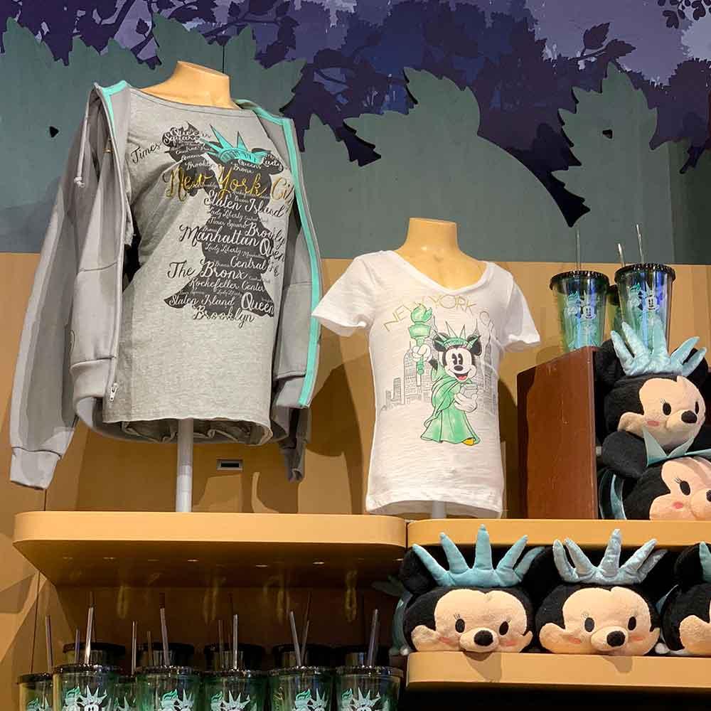 Assorted Disney Store Times Square Apparel and Tsum Tsums | Mouse Memos Disney Blog