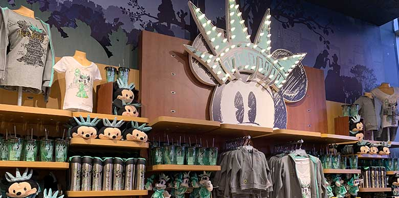 Disney Store Times Square Minnie Mouse Statue of Liberty Merchandise | Mouse Memos Disney Blog