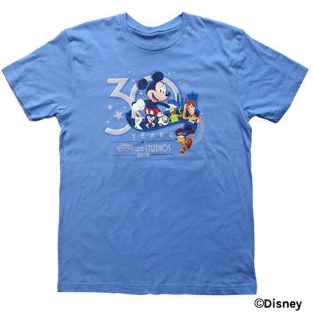 Light Blue T-Shirt - Disney's Hollywood Studios 30th Anniversary Merchandise | Mouse Memos Disney Blog