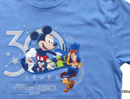 Disney's Hollywood Studios 30th Anniversary Merchandise | Mouse Memos Disney Blog