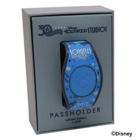 Passholder MagicBand - Disney's Hollywood Studios 30th Anniversary Merchandise | Mouse Memos Disney Blog