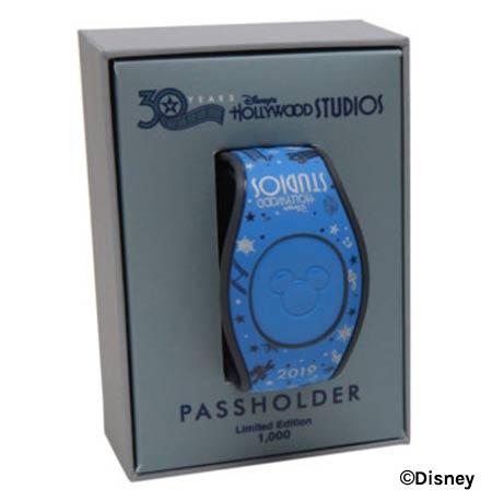 Passholder MagicBand - Disney's Hollywood Studios 30th Anniversary Merchandise | Mouse Memos Disney Blog