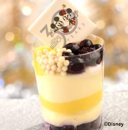 Lemon Blueberry Cheesecake Verrine - Disney's Hollywood Studios 30th Anniversary Treats | Mouse Memos Disney Blog