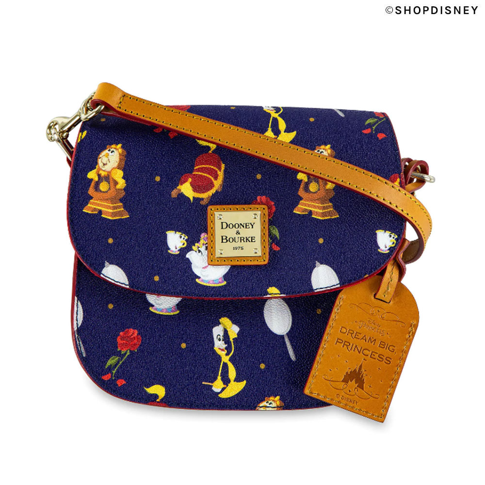 Dooney & Bourke Beauty and the Beast Crossbdy Bag on shopDisney | Mouse Memos Disney Blog