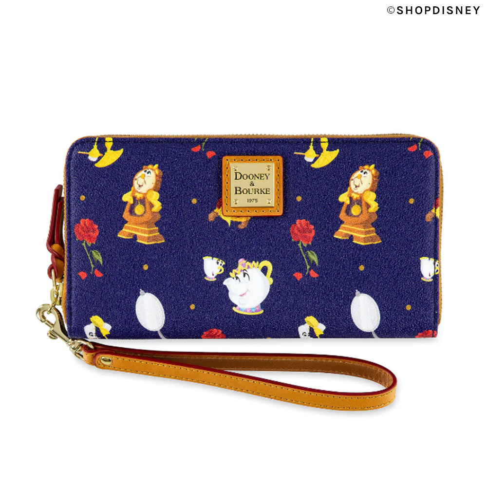 Dooney & Bourke Beauty and the Beast Wallet on shopDisney | Mouse Memos Disney Blog