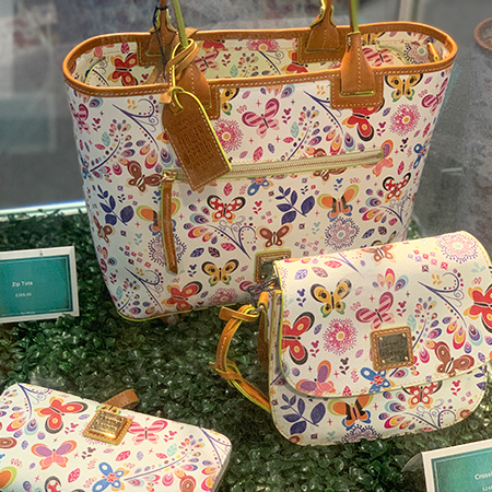 2019 Epcot International Flower & Garden Festival Dooney & Bourke Collection | Mouse Memos Disney Blog