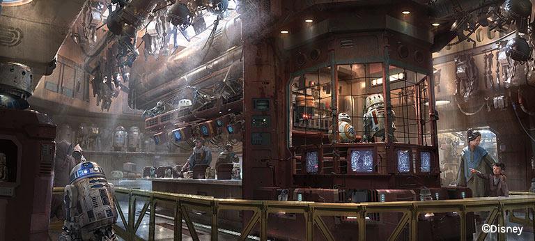 Droid Depot at Star Wars: Galaxy's Edge | Mouse Memos Disney Blog