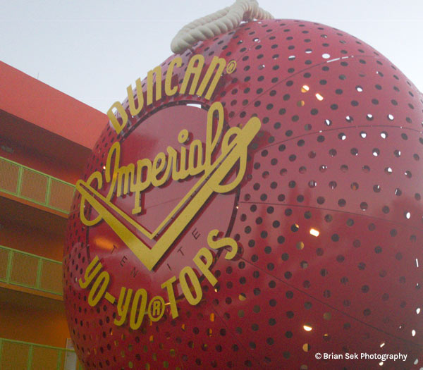 Duncan Yo-Yo at Disney's Pop Century Resort | Mouse Memos Disney Blog