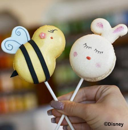 Easter Treats at Walt Disney World Resort: Bunny & Bumblebee Macarons | Mouse Memos Disney Blog