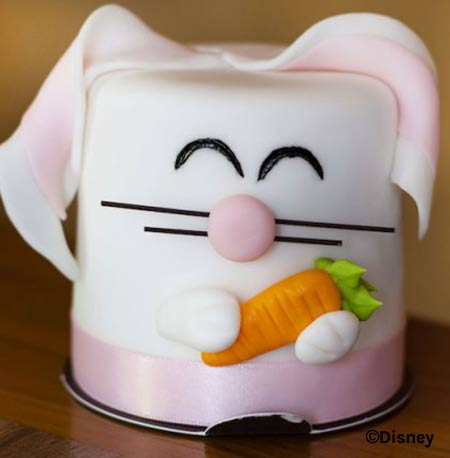 Easter Treats at Walt Disney World Resort: Bunny Petit Cake | Mouse Memos Disney Blog