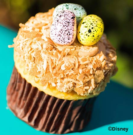 Easter Treats at Walt Disney World Resort: Animal Kingdom Cupcake | Mouse Memos Disney Blog
