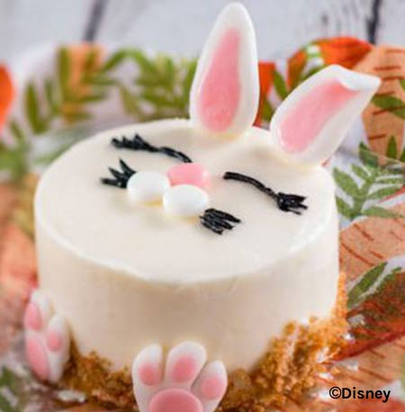 Easter Treats at Walt Disney World Resort: Easter Bunny Cake Sunshine Seasons Epcot | Mouse Memos Disney Blog