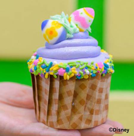 Easter Treats at Walt Disney World Resort: Easter Cupcake | Mouse Memos Disney Blog