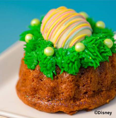 Easter Treats at Walt Disney World Resort: Easter Dessert Carrot Cake | Mouse Memos Disney Blog