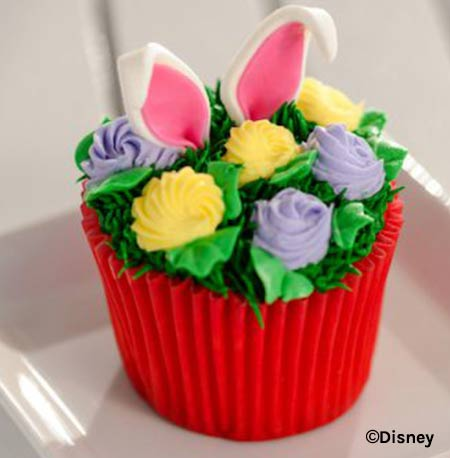 Easter Treats at Walt Disney World Resort: Easter Dessert Cupcake | Mouse Memos Disney Blog