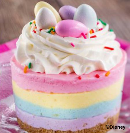 Easter Treats at Walt Disney World Resort: Springtime Lemon Cheesecake | Mouse Memos Disney Blog