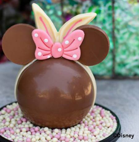 Easter Treats at Walt Disney World Resort: Minnie Mouse Bunny Pinata | Mouse Memos Disney Blog