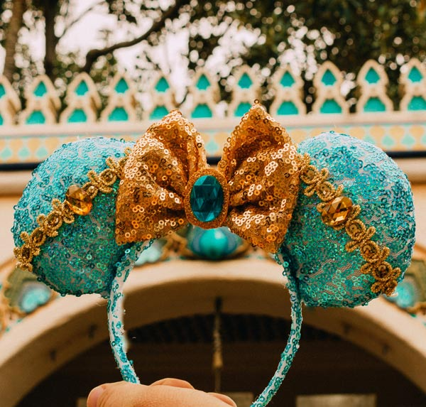 Enchanted Alexandra Princess Jasmine Mouse Ears | Mouse Memos Disney Blog