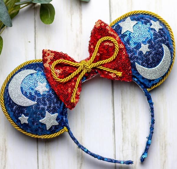 Enchanted Alexandra Sorcerer Mickey Mouse Ears | Mouse Memos Disney Blog