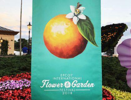 2018 Epcot International Flower and Garden Festival Menu