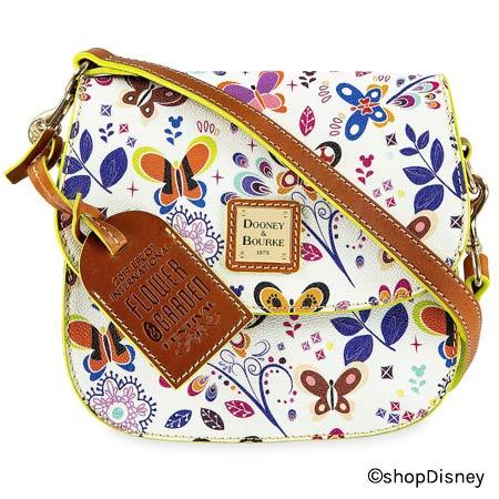 2019 Epcot International Flower & Garden Festival Dooney & Bourke Crossbody Bag | Mouse Memos Disney Blog