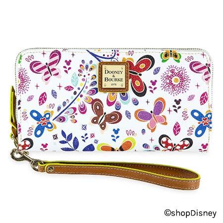 2019 Epcot International Flower & Garden Festival Dooney & Bourke Wallet | Mouse Memos Disney Blog