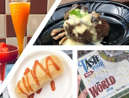 Everything We've Tried (So far) at the Epcot Food & Wine Festival | Mouse Memos Disney Blog