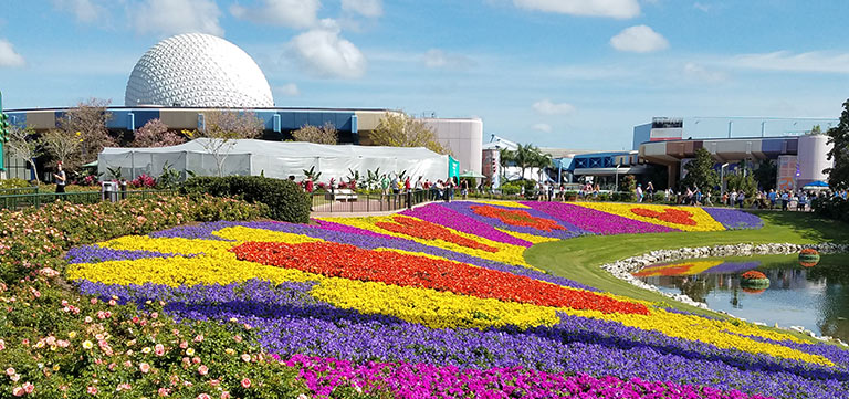 Festival Blooms at Epcot Flower & Garden Festival   Mouse Memos Disney Blog