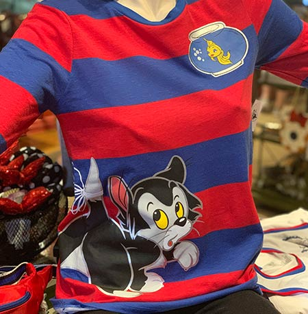 Chic Out the Parks Disney Characters Collection: Figaro and Cleo Long Sleeve Shirt | Mouse Memos Disney Blog
