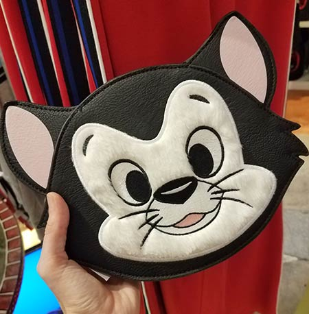 Chic Out the Parks Disney Characters Collection: Figaro LoungeFly Crossbody Bag | Mouse Memos Disney Blog