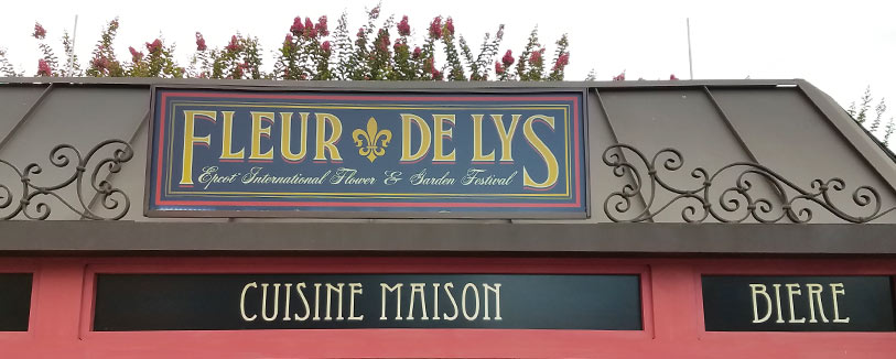 Fleur de Lys Menu 2019 Epcot International Flower and Garden Festival | Mouse Memos Disney Blog