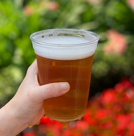 Key Lime Wheat Florida Fresh: Drinking Around the World Flower & Garden Festival Edition | Mouse Memos Disney Blog