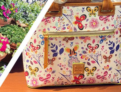 Flower & Garden Festival Dooney & Bourke Collection 2019 | Mouse Memos Disney Blog