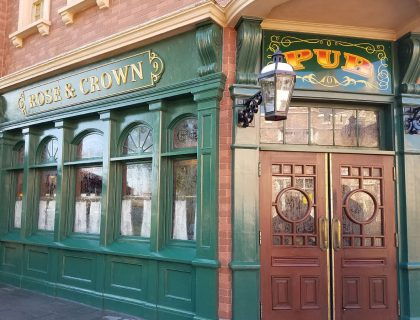 Rose & Crown Pub Food Review | Mouse Memos Disney Blog