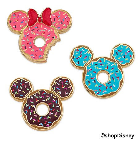 Forever Disney Donut Pin Set | Mouse Memos Disney Blog