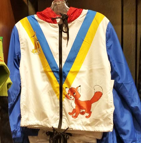 Chic Out the Parks Disney Characters Collection: Fox and the Hound Windbreaker | Mouse Memos Disney Blog
