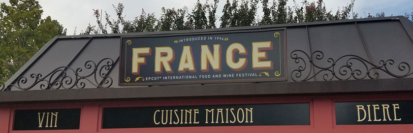 France 2019 Menu Epcot International Food & Wine Festival | Mouse Memos Disney Blog