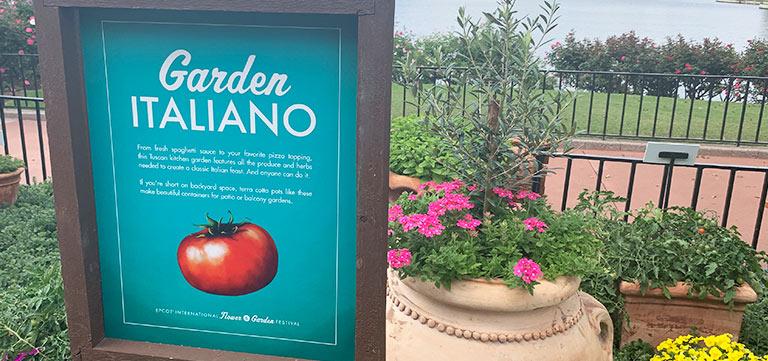 Garden Italiano at Epcot Flower & Garden Festival   Mouse Memos Disney Blog