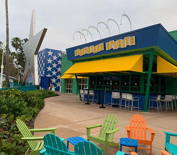 GrandStand Spirits at Disney's All Star Sports Resort | Mouse Memos Disney Blog