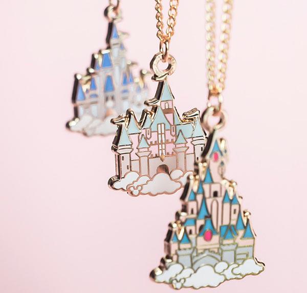Grape Soda Club Disney Castles Necklaces   Mouse Memos Disney Blog