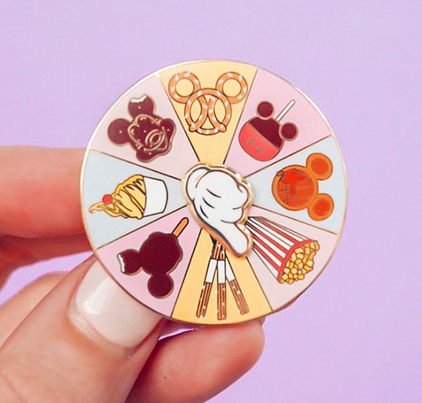 Grape Soda Club Disney Snacks Spinner Pin   Mouse Memos Disney Blog