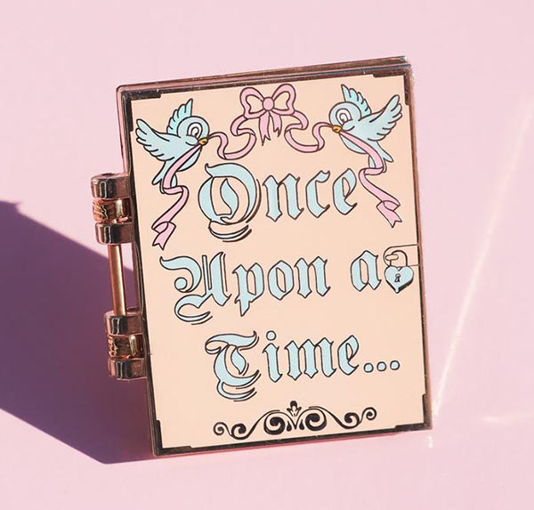 Grape Soda Club Once Upon a Fairytale Whiteboard Enamel Pin | Mouse Memos Disney Blog