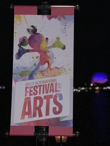 Guide to 2019 Epcot International Festival of the Arts Sign | Mouse Memos Disney Blog