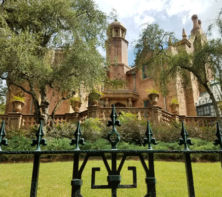 Haunted Mansion Ride near Memento Mori at Magic Kingdom | Mouse Memos Disney Blog