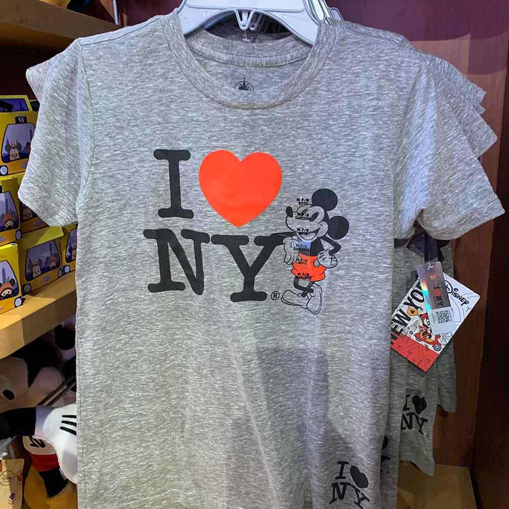 I Love NY Children's Shirt | Mouse Memos Disney Blog