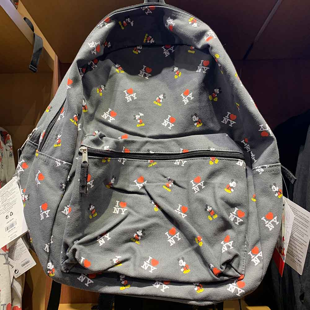 I Love NY Mickey Mouse Backpack | Mouse Memos Disney Blog