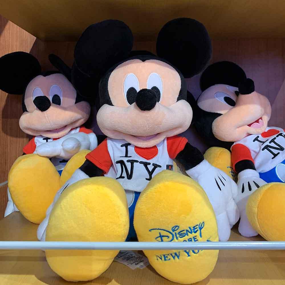 I Love NY Mickey Mouse Plush Toy | Mouse Memos Disney Blog