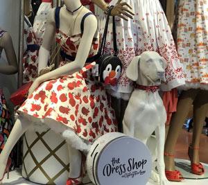 The Dress Shop on Cherry Tree Lane | Mouse Memos Disney Blog