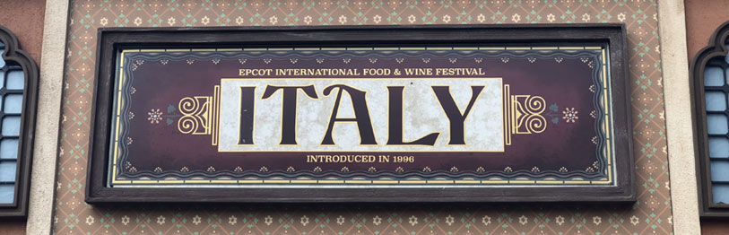 Italy 2019 Menu Epcot International Food & Wine Festival | Mouse Memos Disney Blog