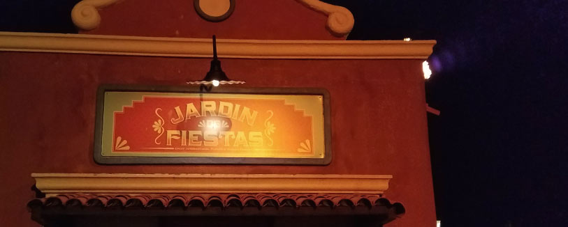 Jardin de Fiestas Menu 2019 Epcot International Flower and Garden Festival | Mouse Memos Disney Blog